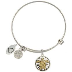 Footnotes Turtle Live In The Sunshine Bangle Bracelet