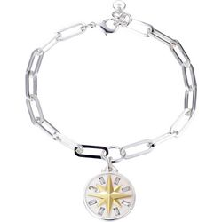 Jolie Femme Journey Compass Charm Bracelet