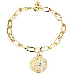 Jolie Femme I Love You To The Moon Charm Bracelet