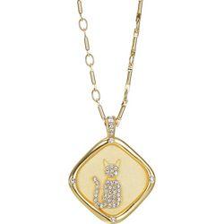 Jolie Femme Love Of A Cat Pendant Necklace