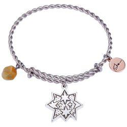 She Rocks She Leaves A Little Sparkle Bangle Bracelet