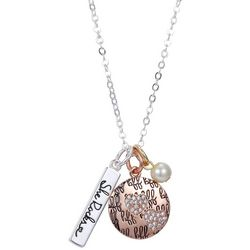 She Rocks The Sister Of My Soul BFF Charm Necklace