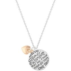 She Rocks Strong Women May We Know Them Necklace