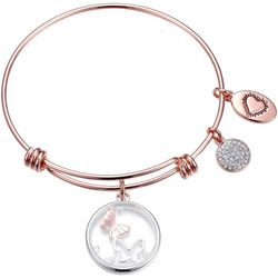 Footnotes Mother Daughter Friends Forever Bangle Bracelet