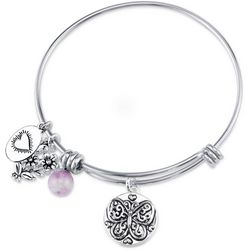 Footnotes Beauty Of Your Dreams Charm Bangle Bracelet
