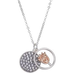 Footnotes If Daughters Were Flowers Pendant Necklace