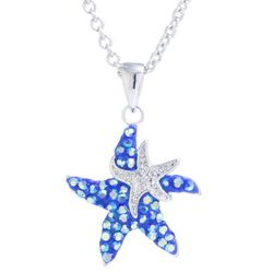 Florida Friends Two Starfish Pendant Necklace