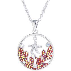 Florida Friends Coral Starfish Pendant Necklace