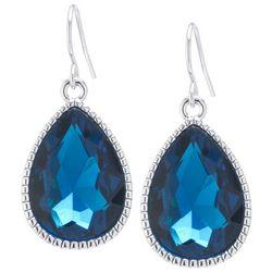 Lily Maris Blue Teardrop Dangle Earrings