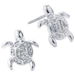 Lily Maris Sea Turtle Stud Earrings