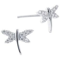 Lily Maris Dragonfly Stud Earrings