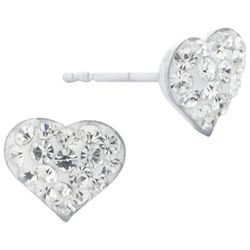 Lily Maris Heart Stud Earrings