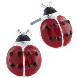 Lily Maris Ladybug Stud Earrings