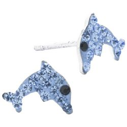Lily Maris Dolphin Stud Earrings