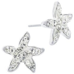 Lily Maris Rhinestone Starfish Stud Earrings