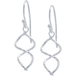 Lily Maris Double Twist Fishhook Earrings