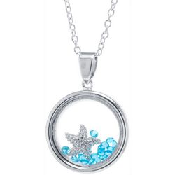 Florida Friends Starfish Shaky Pendant Necklace