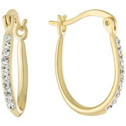 Piper & Taylor Rhinestone Huggie Earrings