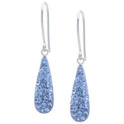 Piper & Taylor Glitter Teardrop Earrings