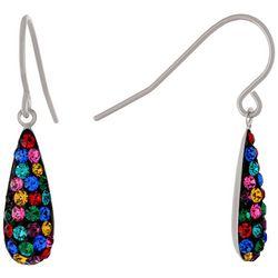 Piper & Taylor Rhinestone Teardrop Earrings