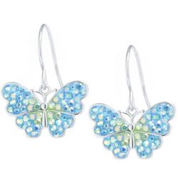 Florida Friends Butterfly Drop Earrings
