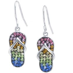 Florida Friends Flip Flop Earrings