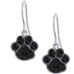 Florida Friends Paw Print Drop Earrings