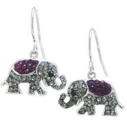 Florida Friends Elephant Dangle Earrings