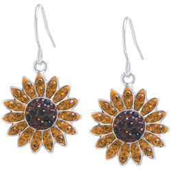 Florida Friends Sunflower Drop Earrings