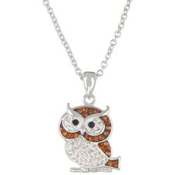 Florida Friends Owl Pendant Necklace