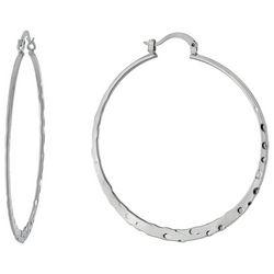 Piper & Taylor 55 mm Hoop Earrings