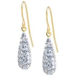 Piper & Taylor Two Tone Open Teardrop Earrings
