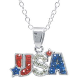 Florida Friends USA Crystal Elements Pendant Necklace