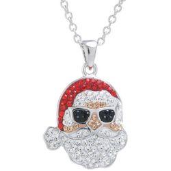 Florida Friends Holiday Florida Santa Necklace