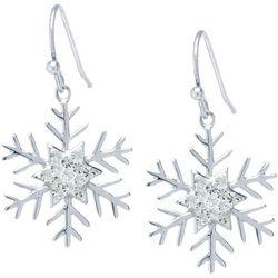 Florida Friends Holiday Snowflake Earrings
