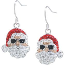 Florida Friends Crystal Elements Florida Santa Earrings