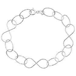Pure 100 Odd Links Chain Bracelet
