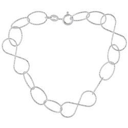 Pure 100 Round Link Bracelet
