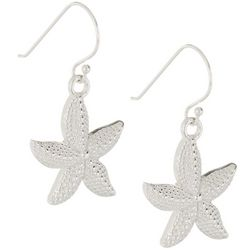 Pure 100 Textured Starfish Earrings