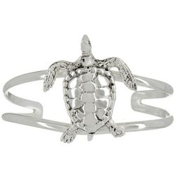 The Jewelry Network Sea Turtle Cuff Bracelet