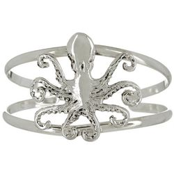 The Jewelry Network Octopus Cuff Bracelet