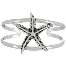 The Jewelry Network Starfish Cuff Bracelet