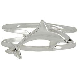 The Jewelry Network Dolphin Cuff Bracelet