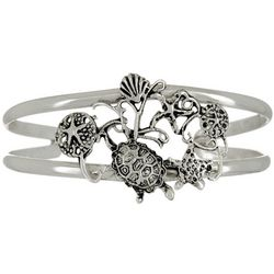 The Jewelry Network Sea Life Cuff Bracelet