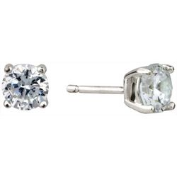 Signature 5mm Cubic Zirconia Stud Earrings