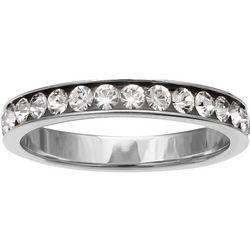 Signature CZ Eternity Band Ring
