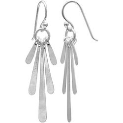 Signature Sterling Silver Paddle Stick Earrings