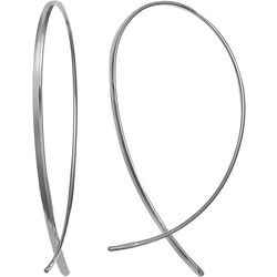 Signature Sterling Silver Threader Earrings