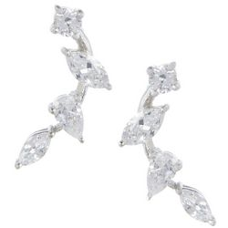 Signature CZ Cascading Earrings