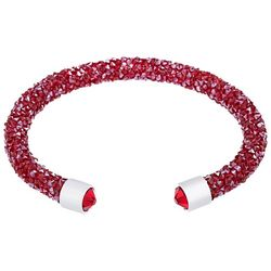 Crystal Energy Red Crystal Elements Cuff Bracelet